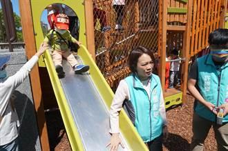 大安森林公園遊具變「鐵板燒」 小孩慘遭燙傷