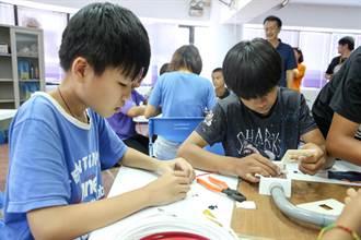 弱勢童升學率低 展望會助培養一技之長