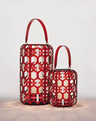 路易威登在台首辦家具展 Objets Nomades系列大紅燈籠吸睛