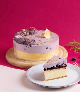 PABLO聯手比利時精品果餡之王 母親節限定藍莓慕斯起司塔開賣