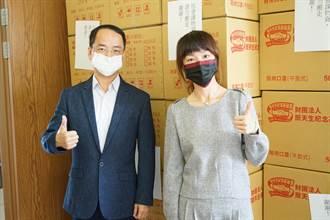 新麗企業有愛 主動捐10萬口罩嘉惠朴子弱勢民眾