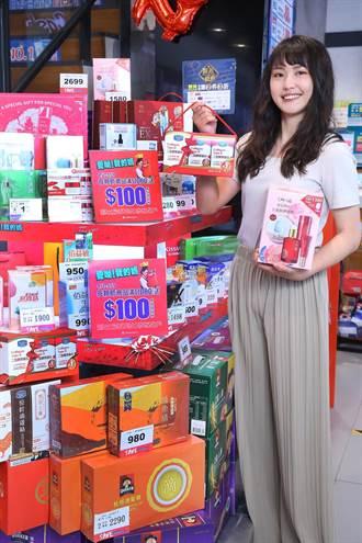美妝通路搶攻母親節市場 妝品買越多回饋越多