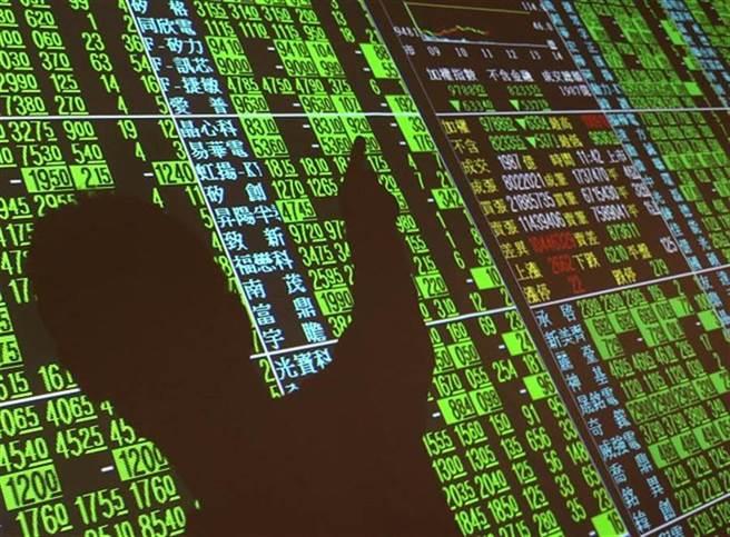 美股四大指數周一全數收黑,台北股市今(20日)開盤震盪。(資料照)