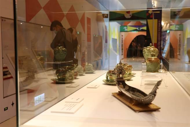 「多樣泰-泰國文化特展」展出多件平常難得看到的珍貴藏品。(十三行博物館提供)
