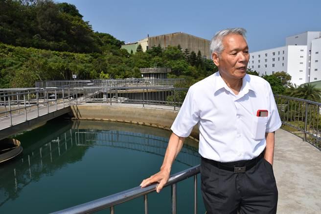 廣源科技園區淨水場虧損多年,但創辦人謝廣源仍堅持維持淨水場營運。(謝明俊攝)