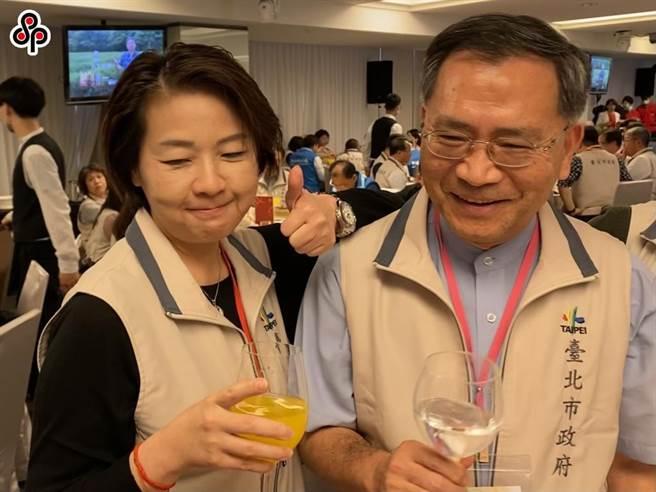 台北2位副市長黃珊珊(左)、蔡炳坤(右)不合傳聞不斷,不只搶行程爭曝光,還有跨局處督導惹議。(本報資料照片)
