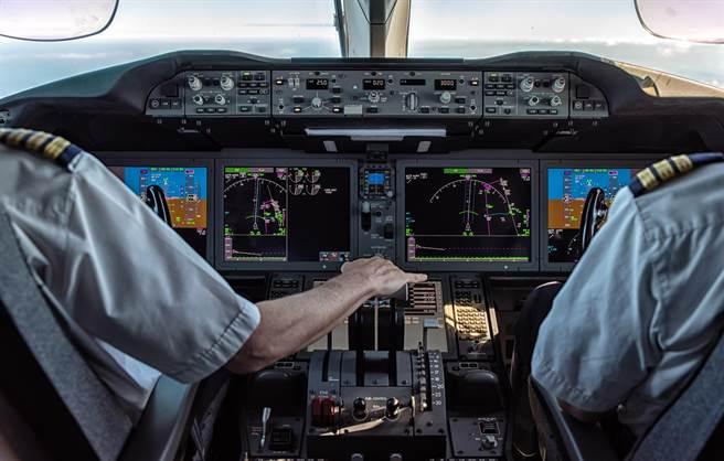 中央流行疫情指揮中心20日宣布有兩名國籍航空組員確診(案1078、1079)COVID-19,感染源待釐清。指揮官陳中今證實,2機師感染英國變異株。(示意圖/Shutterstock)