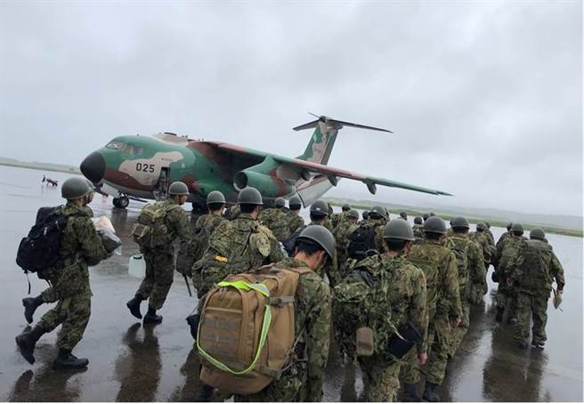 日本陸上自衛隊宣布,今年5月11至17日在日本境內的聯合演習中,將有美國陸戰隊和法國陸軍共同參與。(圖/日本陸上自衛隊)