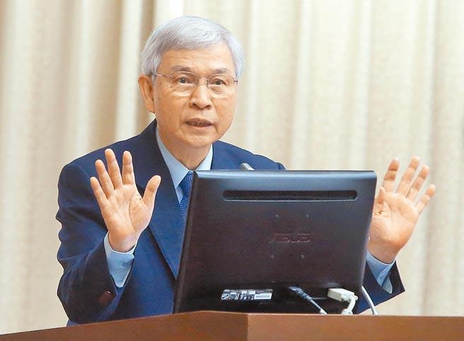 中央銀行總裁楊金龍。(趙雙傑攝)