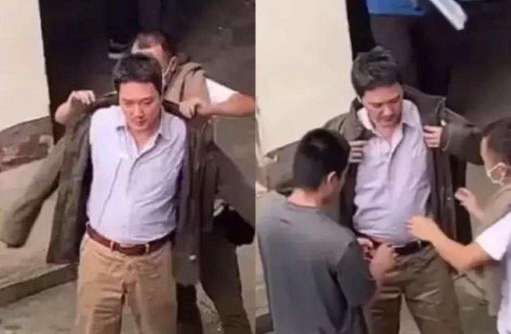 馮紹峰身材忽胖忽瘦。(圖/翻攝自一點娛樂微博)