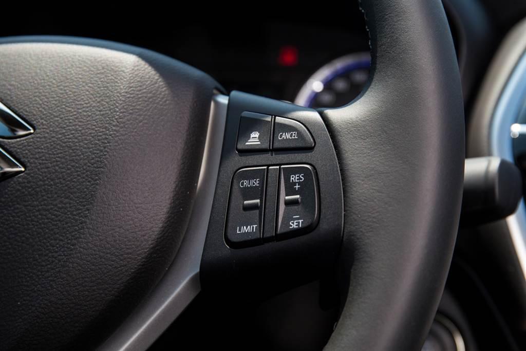 新增的ACC主動車距巡航系統並非全速域設定,僅適合高速巡航時使用。