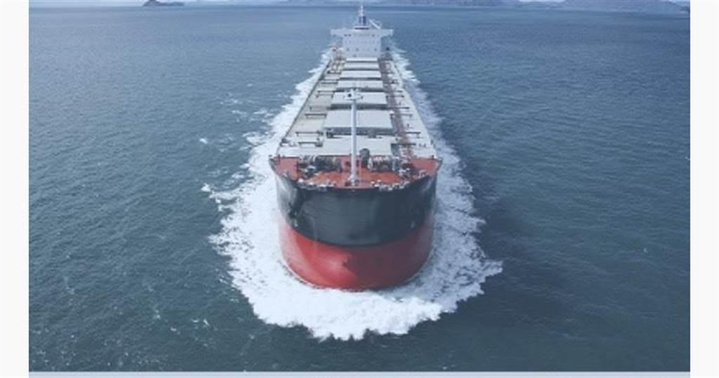 陽明海運子公司光明海運散裝船。(圖/業者提供)