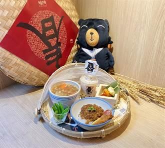 喔熊組長與有春茶館聯名 推喔熊滷肉飯、珍奶賣萌吸人氣
