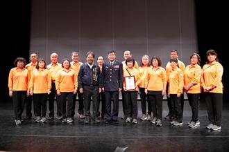 警民合作 淡水警分局和社區合作「五力」護治安