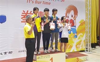 全中運》父親也是奧運國手 劉宇珊繼承衣缽