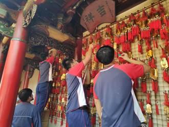 北港農工學生祈高中 誠意馨香禱文昌