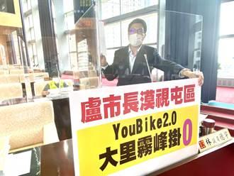YouBike2.0大里、霧峰掛零 交通局:先以軌道運輸場站為主