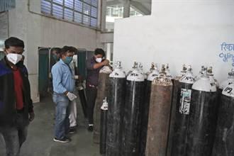 印度第2波疫情如海啸 医院氧气短缺墓园没空间