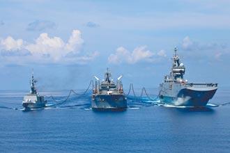 羅斯福號四進南海 接近台灣西南方