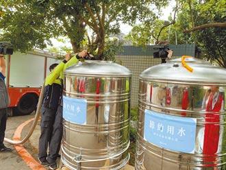 竹市超前部署 將設158個供水站