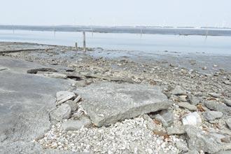 鹿港崑崙台泊地 砸百萬整修