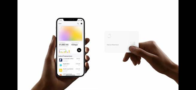 蘋果的Apple Card Family方案,可讓2名家庭成員共同持使用Apple Card,以分享及合併兩人的信用額度。(翻攝直播畫面)