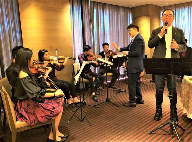 音樂家以樂會友,組成「台灣梧桐弦樂團」,25日將舉辦「台灣梧桐春分音樂會」。(盧金足攝)