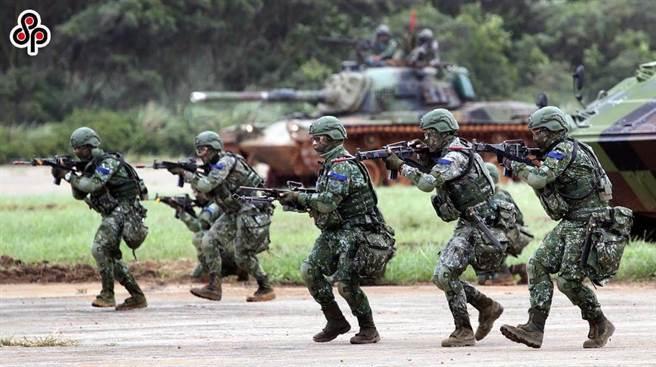 圖為 陸軍演習畫面。(圖/本報資料照)