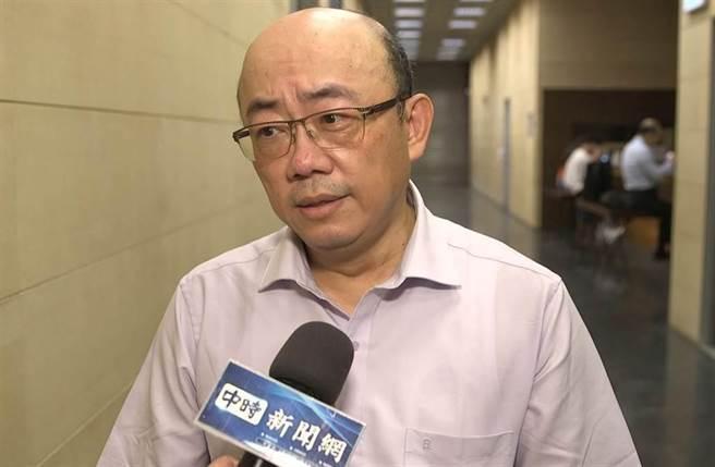 前民进党立委郭正亮。(资料照片)