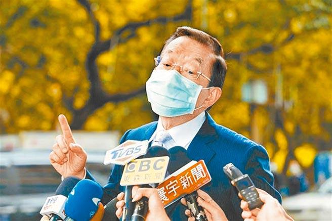 駐日代表謝長廷。(圖/本報系資料照片)