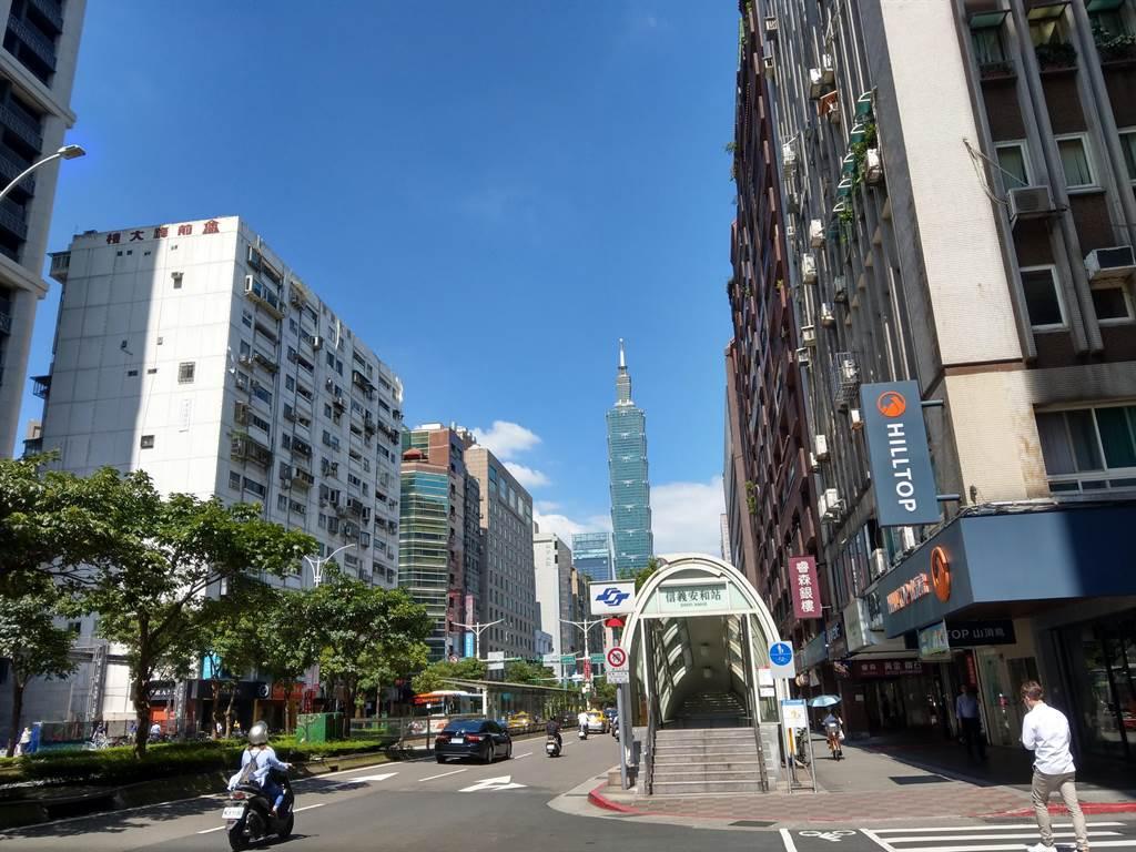 台北居大不易,2020年迎來了有統計資料以來最大的「脱北潮」。(葉思含攝)