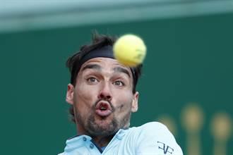網球》納達爾三盤逆轉勝 義選手辱罵線審失格