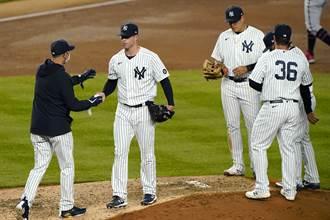 MLB》洋基輸到慌 前賽揚獎強投4.2局就被打退