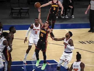 NBA》崔楊大扭退場!老鷹拱手讓出東區第4給尼克