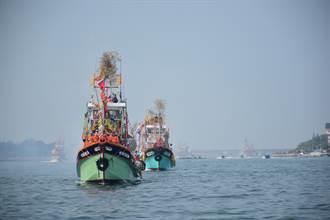 林園媽祖海巡主視覺公布 象徵慈悲媽祖照亮黑夜、守護台灣