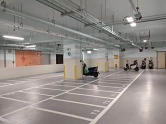 北市延平國小地下停車場啟用 首推「計時制里民優惠停車方案」