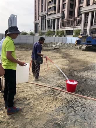 備戰旱象 台南市建築工地找到民生可用地下水