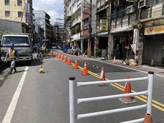 祥豐街管線汰換有譜 預計6月底完工翻新路面