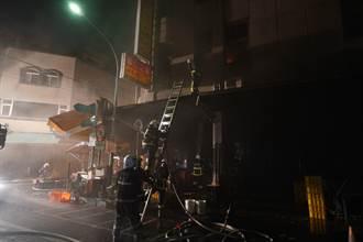 宜蘭南館市場住宅火警濃煙狂竄 警消救援無人員受困