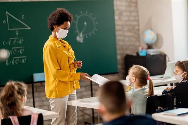 普通考生於考試當日考生進入分區學校應提前進入量測體溫,並佩戴口罩。(圖/shutterstock提供)