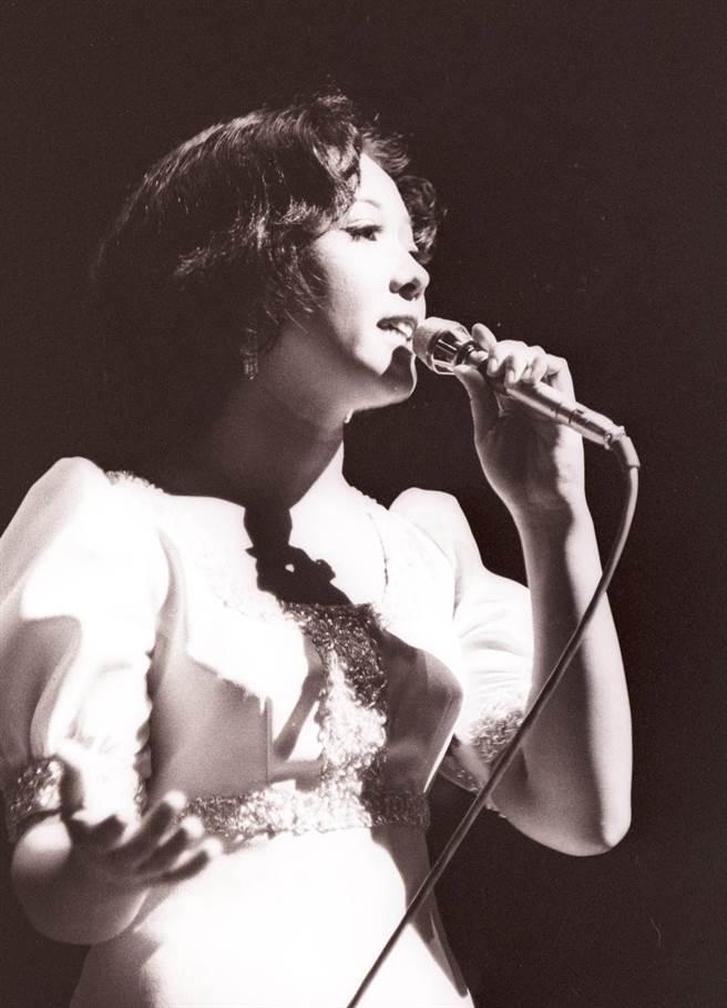 蔡咪咪曾是「五花瓣合唱團」主唱,與謝雷搭檔演出爆紅。(中時資料照片)