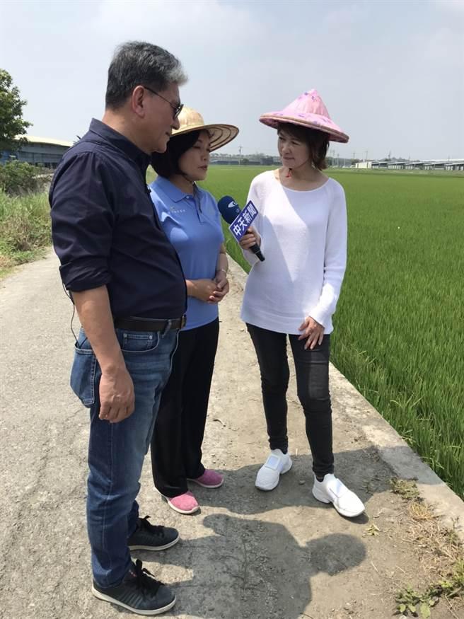 雲林縣長張麗善接受《中天辣晚報》訪問。(圖/中天電視提供)