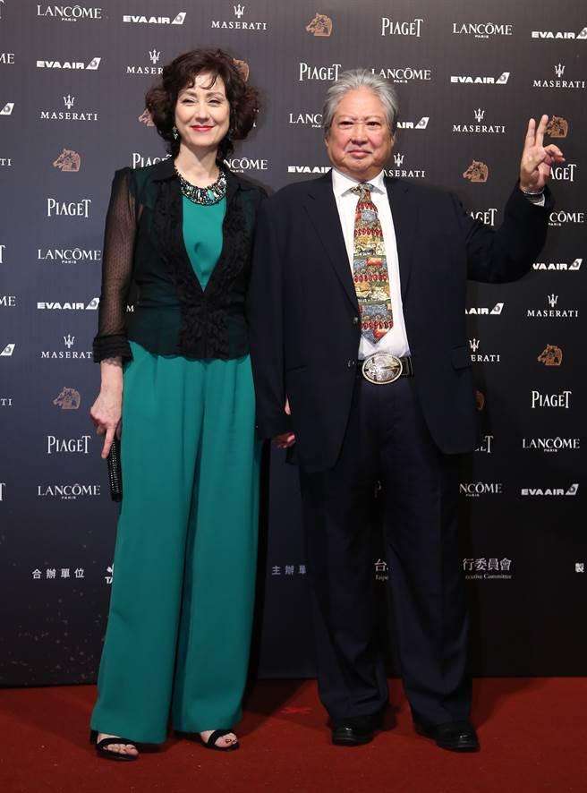 近年来夫妻俩还曾携手参加颁奖典礼。(中时资料照)