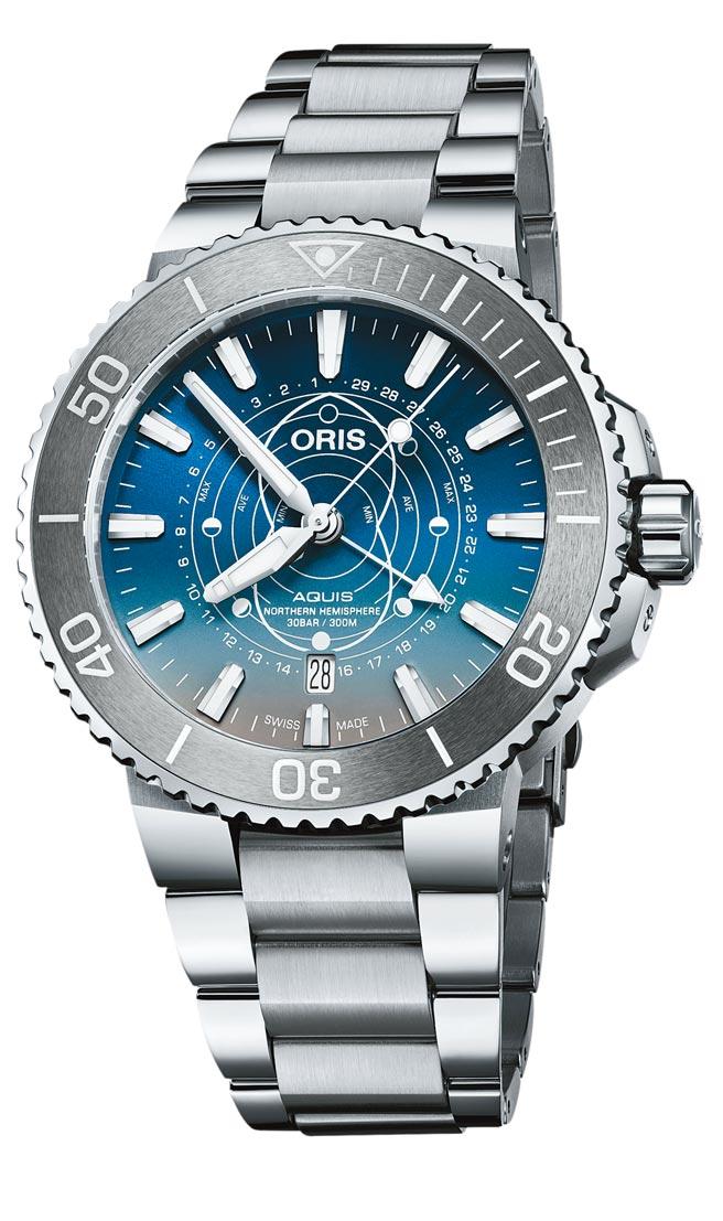 ORIS與護育潮間帶Dat Watt組織合作推出聯名潛水表,限量2009只,7萬7000元。(ORIS提供)