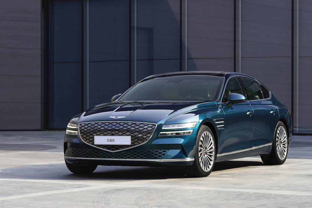 2021 上海車展:品牌首款電動車、續航力超過 500km!Genesis Electrified G80 全球首發