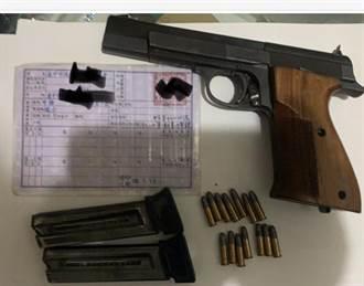 誆百萬元買槍械使用權可攜出槍彈 台中某運動協會會長與祕書遭起訴
