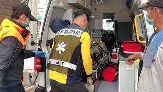 台東都蘭飛行傘失去動力 教練墜落頭部重創