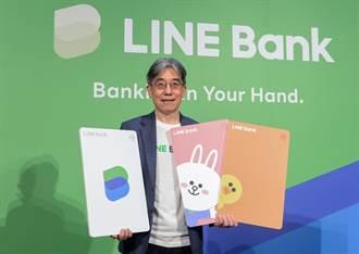 熊大兔兔魅力大 LINE Bank開業前開戶數已破4萬