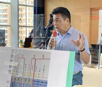 議員要求不影響捷運藍線期程 交通局審慎評估增設龍井坪頂站