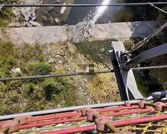 去年才斥資1700萬完工 太平蝙蝠洞驚傳有男子墜橋